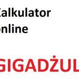 Gigadżul – GJ na kWh i MWh