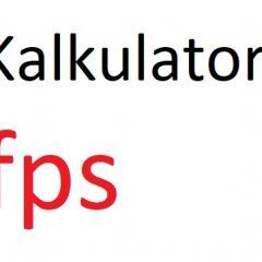fps na m/s