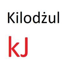 Kilodżul – kJ na kcal