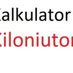 kiloniuton