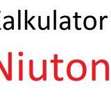 Niuton – N na kG, kN
