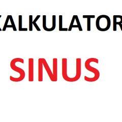 Kalkulator sinus