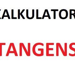 Kalkulator tangens