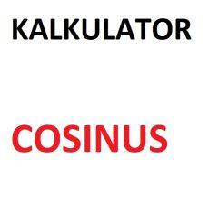 Kalkulator cosinus